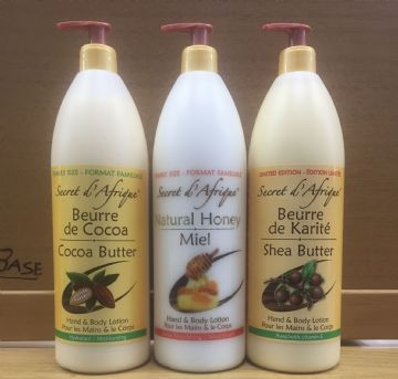 Secret d' Afrique Hand and Body Lotion - 1000ml